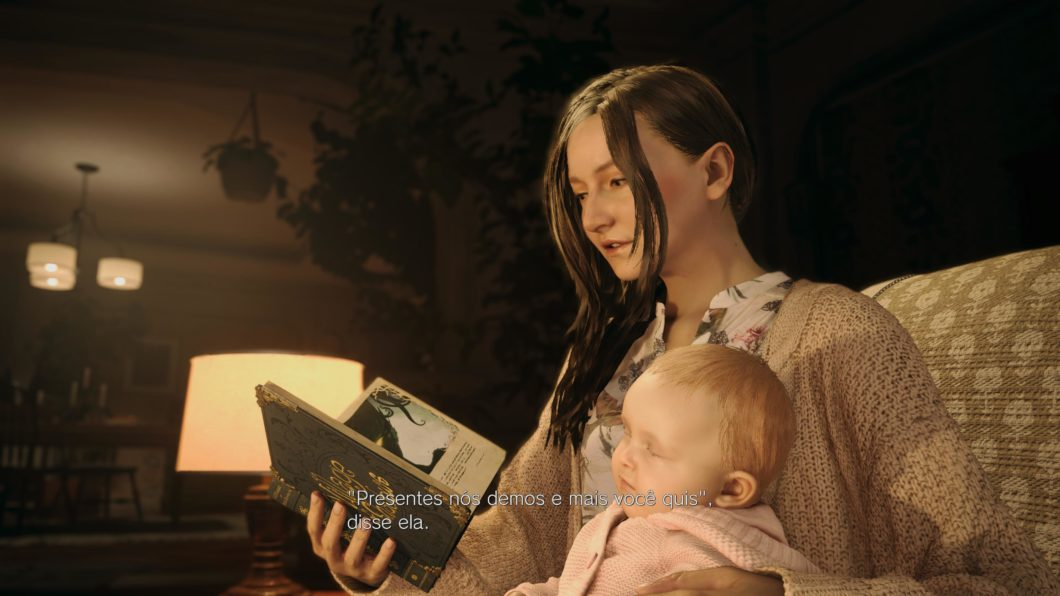 Mia and Rose Winters in Resident Evil Village (Image: Felipe Vinha / Tecnoblog)