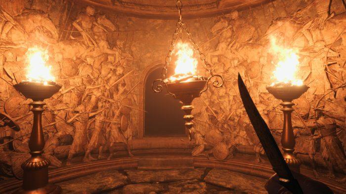 Resident Evil Village: use bem sua faca (Imagem: Reprodução/Felipe Vinha)