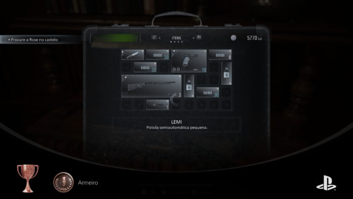 Resident Evil Village: espaço é importante (Imagem: Reprodução/Felipe Vinha)