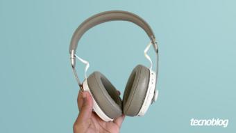 Fone Bluetooth Sennheiser Momentum 3: para apreciar cada detalhe