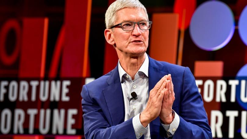 Tim Cook na Fortune CEO Iniciative 2018 (imagem: Stuart Isset/Fortune)