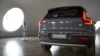 Volvo XC40 Recharge, carro 100% elétrico, é anunciado para o Brasil