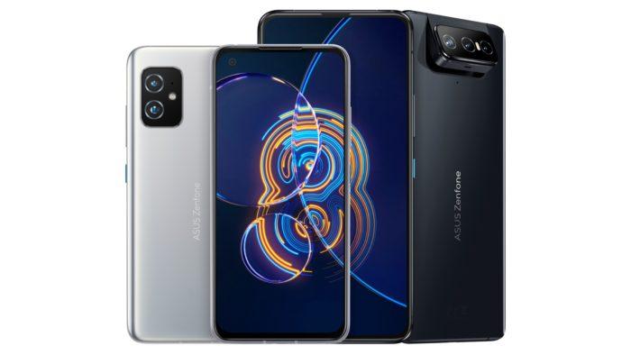 Zenfone 8 e 8 Flip (Imagem: Divulgação / Asus)