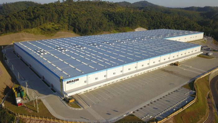 Centro da Amazon em Cajamar (SP) tem 57 mil m² (Imagem: Divulgação)