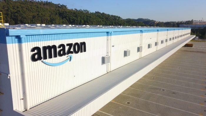 Centro de distribuição da Amazon em Cajamar (SP) (Imagem: Divulgação)