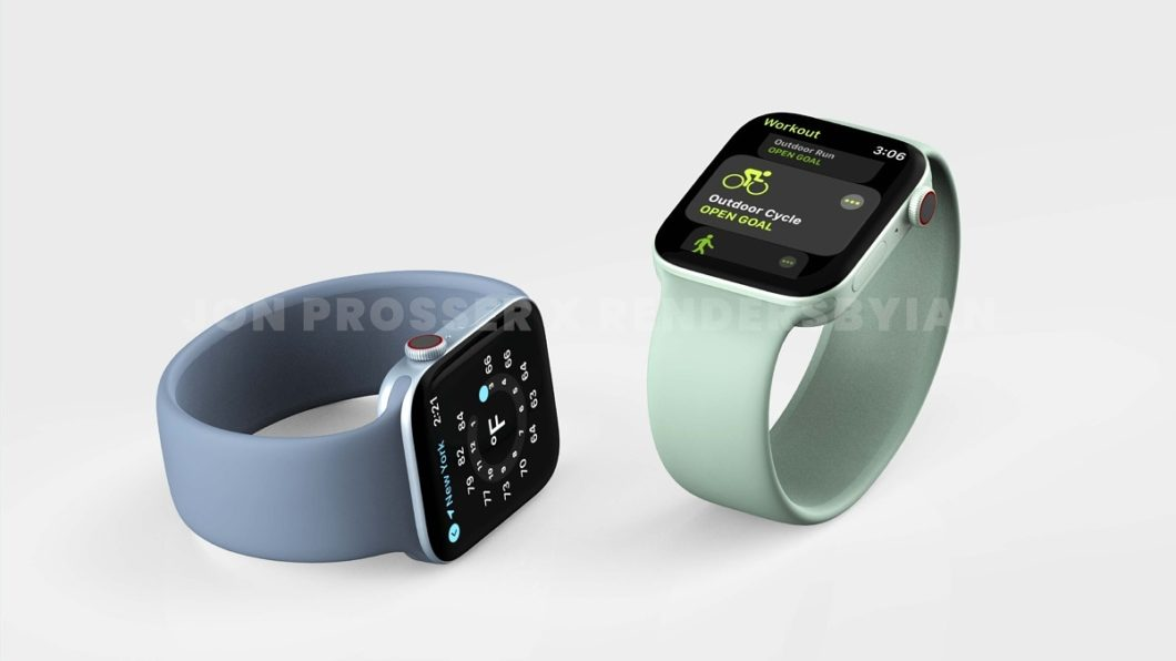 Supposedly Apple Watch Series 7