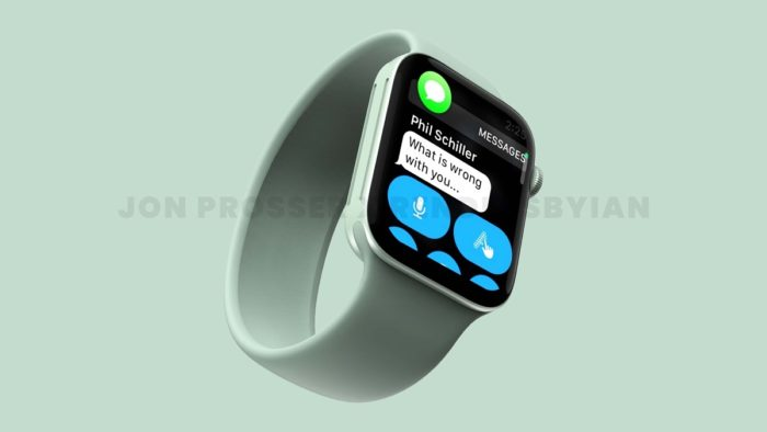 Suposto Apple Watch Series 7