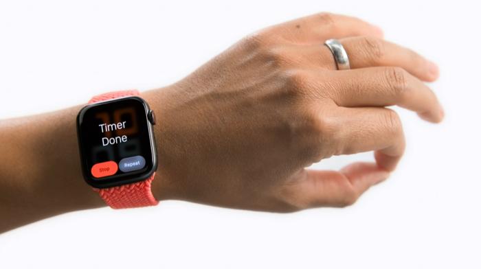 Apple Watch Assistive Touch (Imagem: Reprodução/Apple)