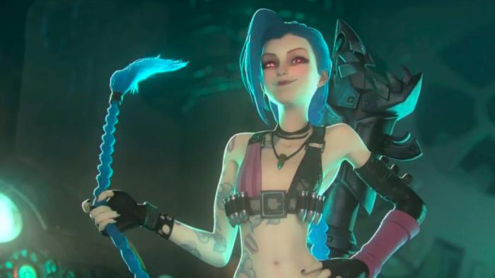 Jinx é uma das personagens em Arcane, na Netflix (Imagem: Divulgação/Riot Games)