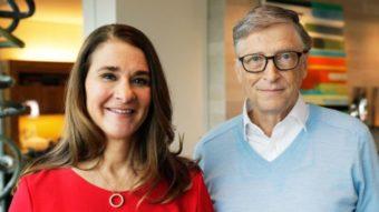 Bill e Melinda Gates estão se separando, mas Fundação Gates continua