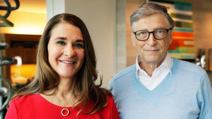 Melinda Gates e Bill Gates (Imagem: Reprodução/Forbes)