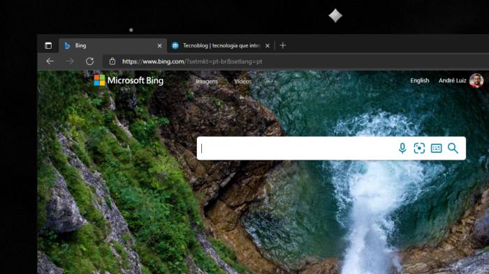 Bing no Microsoft Edge no Windows 10 (Imagem: reprodução)