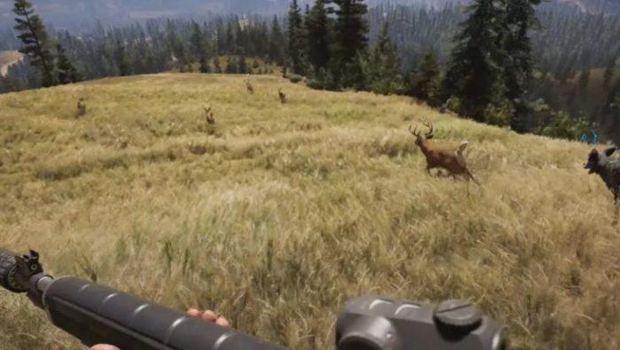 Procure por animais de caça nos locais indicados (Imagem: Divulgação / Ubisoft)