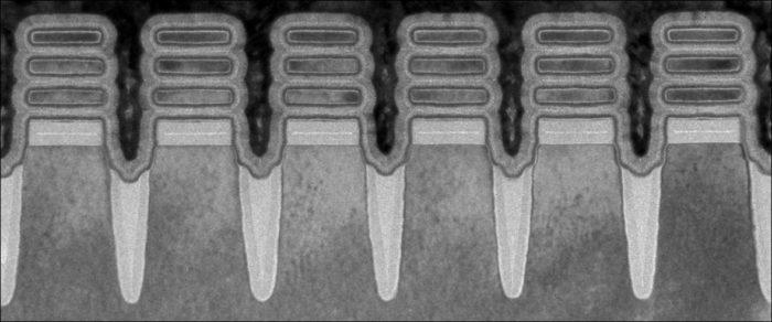 Design Nanosheet de 2 nanômetros (imagem: divulgação/IBM)
