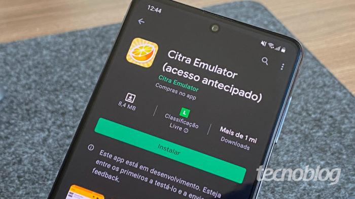 Citra Emulator roda games do NIntendo 3DS (Imagem: André Fogaça/Tecnoblog)