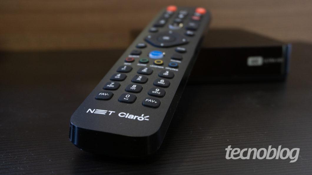 Claro Box TV (Image: Lucas Braga / Tecnoblog