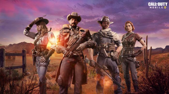 Temporada 4 de COD: Mobile, Espora e Fogo, tem tema de Velho Oeste (Imagem: Divulgação/Activision)