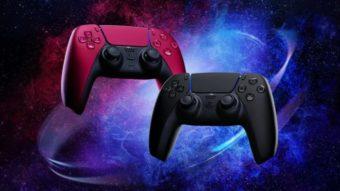 DualSense do PS5 chega ao Brasil em novas cores e com preço mais alto