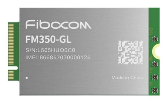 Fibocom FM350-GL Module (image: disclosure/Fibocom)