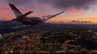 Mod de Flight Simulator inclui tours guiados por áudio em 9 mil locais