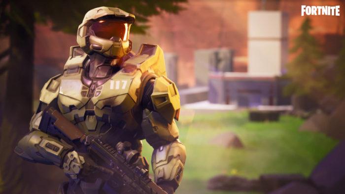 Skin de Master Chief em Fortnite (Image: Divulgação/Epic Games)