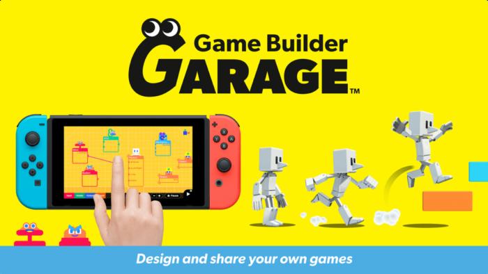 Com Game Builder Garage é possível criar jogos (Imagem: Divulgação/Nintendo)