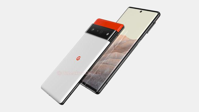 Suposto Google Pixel 6 Pro (Imagem: Reprodução/OnLeaks/Digit)