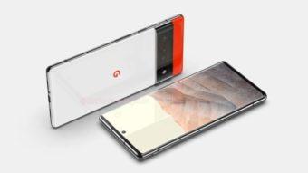 Google Pixel 6 Pro vaza em imagens com tela grande e câmera de periscópio