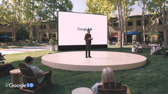Google I/O 2021 (Imagem: Reprodução/YouTube)