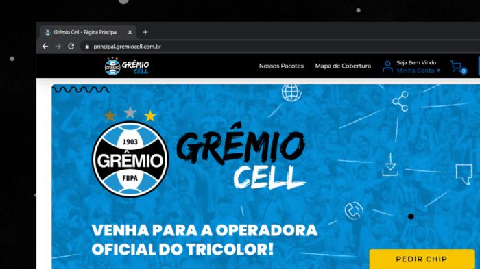 Grêmio Cell (Imagem: reprodução)