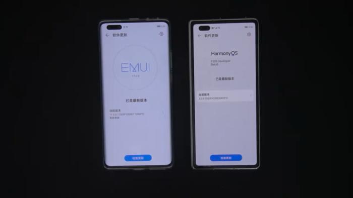 HarmonyOS é comparado com EMUI 11 em vídeo (Imagem: Reprodução/ CREATOR STUDIO/YouTube)