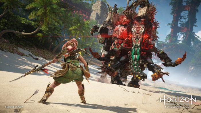Horizon Forbidden West revela primeiras cenas de gameplay (Imagem: Divulgação/Sony)