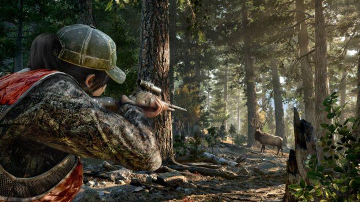 Caçar rende muito dinheiro em Far Cry 5 (Imagem: Divulgação / Ubisoft)