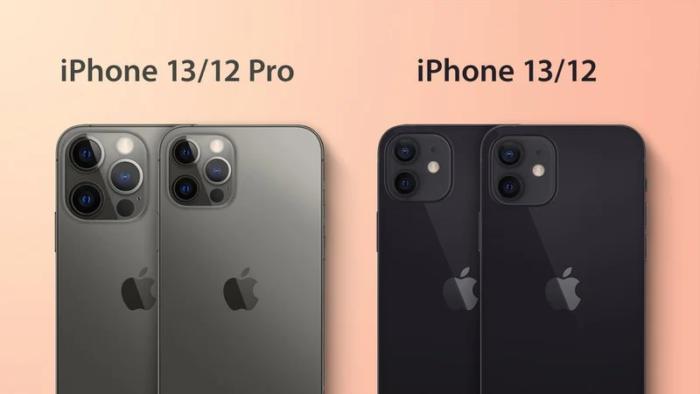 Esquemas mostram possível design de câmeras do iPhone 13 e 13 Pro (Imagem: Reprodução/MacRumors)