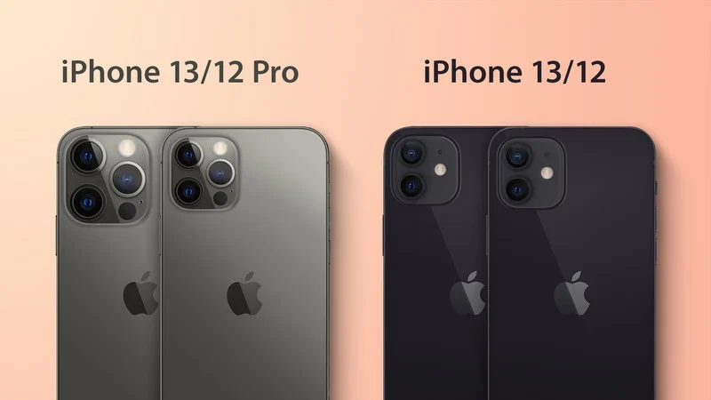 Schematics show possible design of iPhone 13 and 13 Pro cameras (Image: Playback/MacRumors)