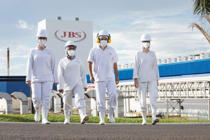 Unidade da JBS no Brasil (imagem: divulgação/JBS)