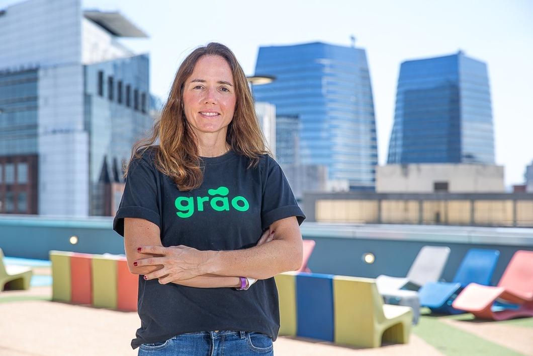 Monica Saccarelli, CEO da Grão (imagem: divulgação/Grão)