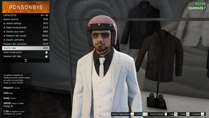 Onde comprar capacetes no GTA 5? / Reprodução / GTA 5