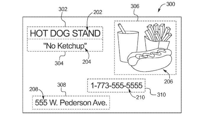 Ford propõe publicidade dentro do carro (Imagem: divulgação/Escritório de Patentes e Marcas dos EUA)