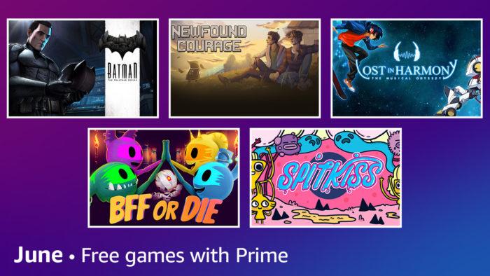 Jogos grátis de junho Prime Gaming / Divulgação / Amazon