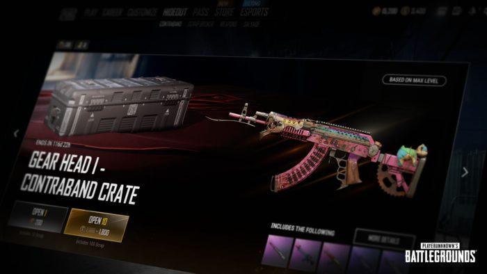 Sistema de Aprimoramento de Visual de Arma de PUBG (Imagem: Divulgação/PUBG Corporation)