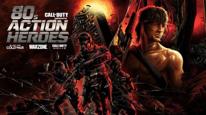 Rambo estará em Call of Duty na próxima semana (Imagem: Activision/Divulgação)