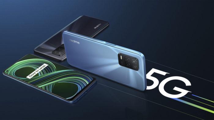 Realme 8 5G (Imagem: Divulgação/Realme)