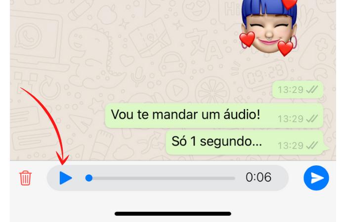 como gravar audio no whatsapp e ouvir antes de enviar