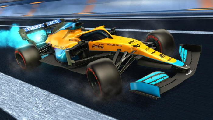 Rocket League ganha conteúdo de Fórmula 1 (Imagem: Divulgação/Psyonix)