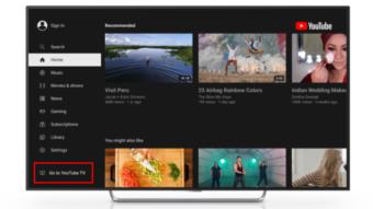 Google coloca YouTube TV dentro do app do YouTube em disputa com Roku