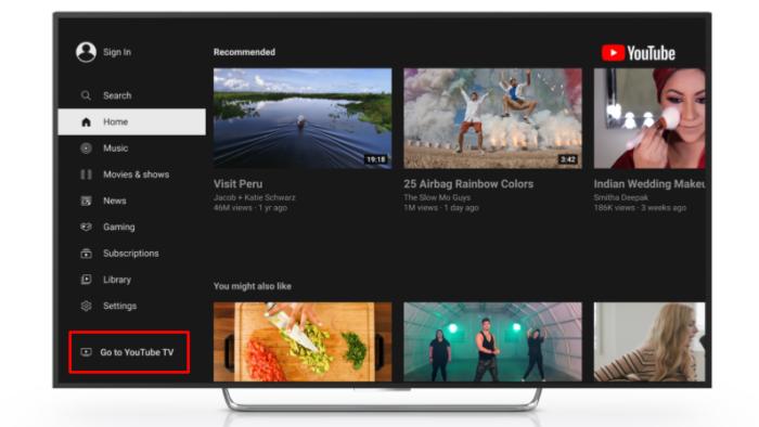 Acesso ao <a href='https://meuspy.com/tag/YouTube-espiao'>YouTube</a> TV para a Roku (Imagem: divulgação/YouTube)