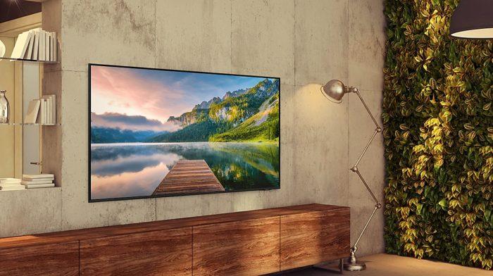TV 4K Samsung AU8000 (Imagem: Divulgação/Samsung)