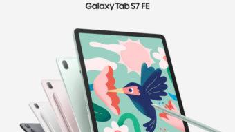Galaxy Tab S7 FE com caneta e Tab A7 Lite são lançados pela Samsung