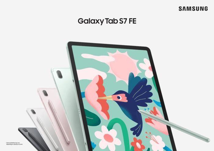 Samsung Galaxy Tab S7 FE (Image: Press Release/Samsung)
